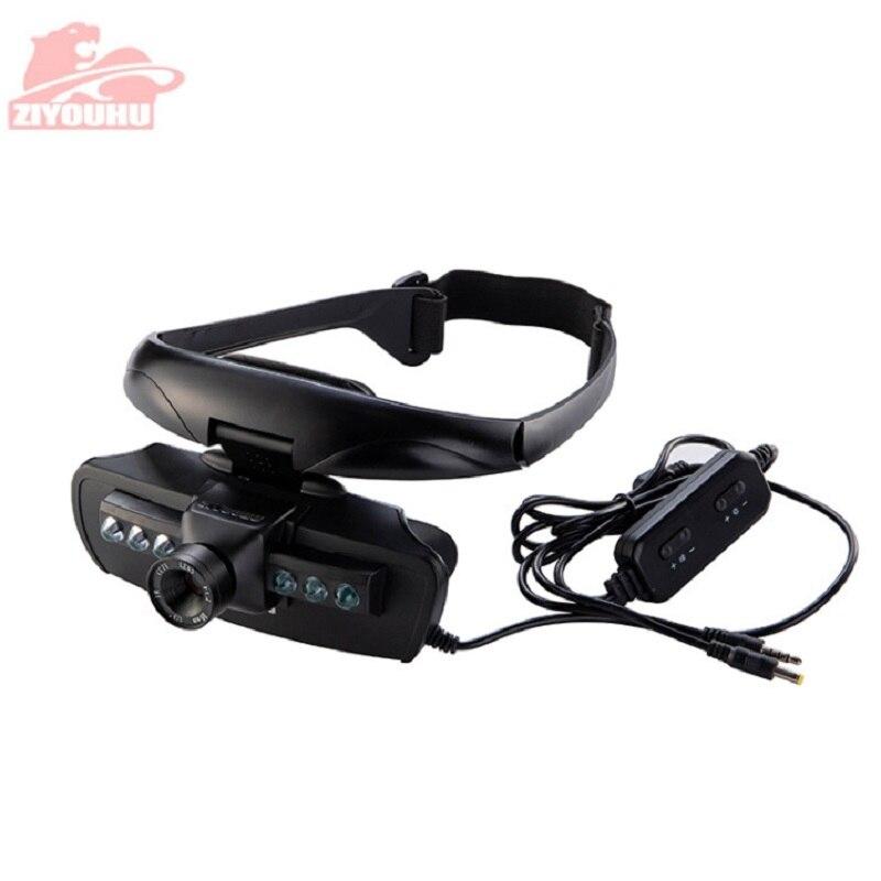 Image 5 - ZIYOUHU IR Цифровые очки ночного видения устройство для масок наблюдения в темноте HD изображения для охоты прицел на голову-in Ночное видение from Спорт и развлечения