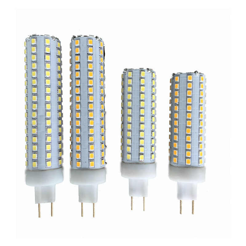 10Pcs Dimmable G8.5 LED Bulb 2835 SMD 15W 20W  LED Corn Light 360 degree Light Beam Angle AC85-265V G8.5 Base Replacement Lamp