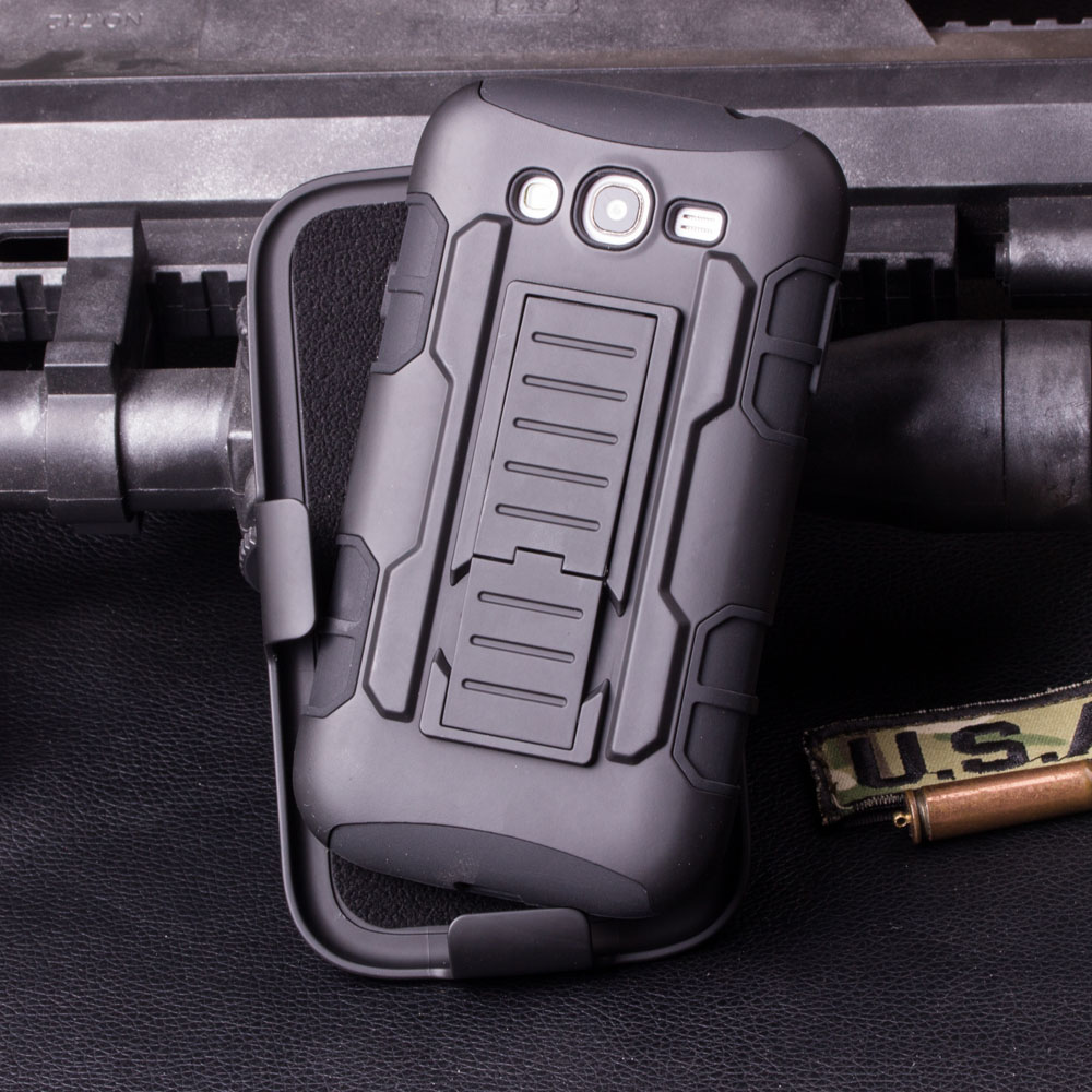Armor Impact Holster Case for coque Samsung Galaxy S3 Case Cover i9300 for coque Samsung S3 Case + Belt Clip Holster