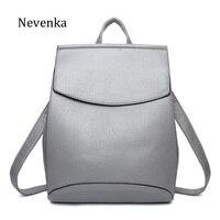 Nevenka Women Backpacks Lady Softback Bag Style Fashion Bags Pu Leather High Quality Shoulder Bag Brand