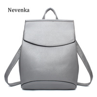 Nevenka Women Backpacks Lady Softback Bag Style Fashion Bags Pu Leather High Quality Shoulder Bag Brand