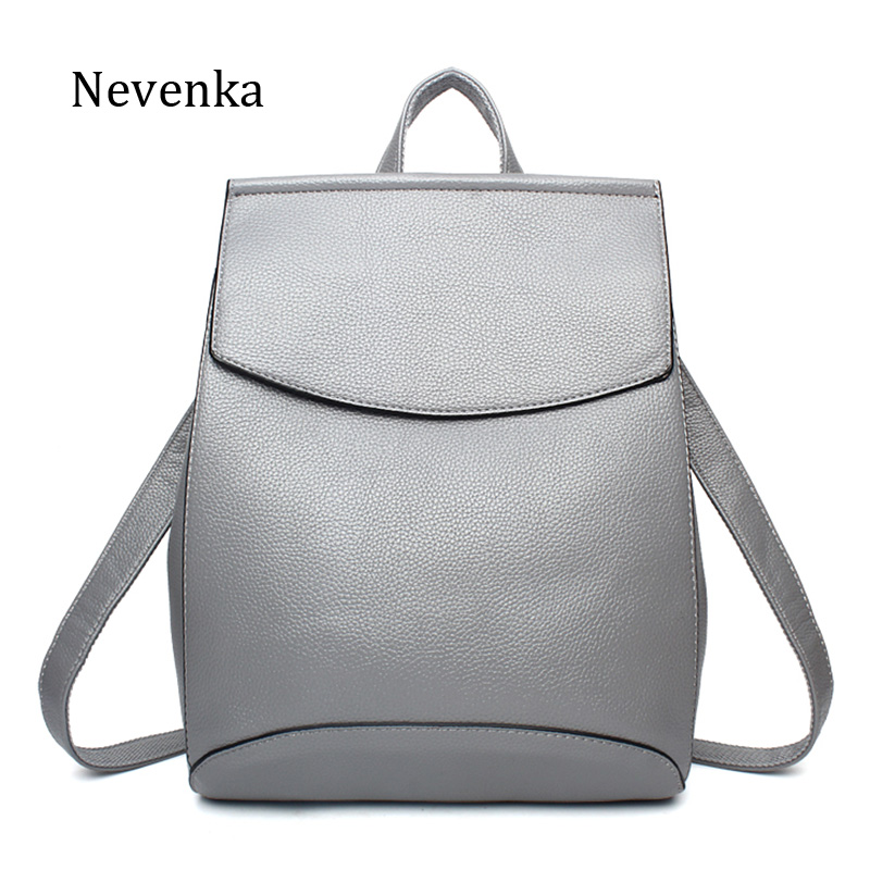 Nevenka Women Backpacks Lady Softback Bag Style Fashion Bags Pu Leather High Quality Shoulder Bag Brand Design Backpack Sac nevenka women bags lady shoulder bag brand female flap mini bag evening bags pu leather tote style original design handbag sac