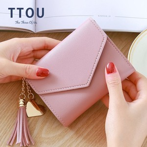 Long Wallet Women Purses Tasse