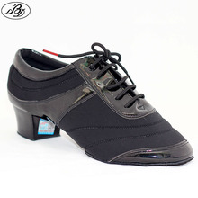 Zapatos de Baile BD 460 Hombres de Split Suela de Zapatos de Baile Latino de baile deportivo Zapato de baile Zapatos de Baile de Interior Del Piso Para La Competencia y La Práctica