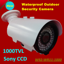 2017 NEW HD 1000TVL Waterproof Outdoor Security Camera Surveillance 1/3″ SONY CCD IR Distance 50 Meters CCTV System