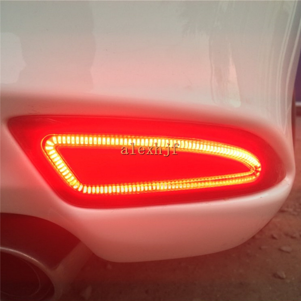 July King Car LED Brake Lights case for Toyota Camry 2015 18, LED Brake Light + Night Driving Light + Turn Signal Light, 3 In 1