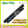 Apexway Laptop Battery for Dell Inspiron 15 3521 3421 FW1MN MR90Y 6XH00 8RT13 8TT5W 6HY59 6K73M 6KP1N 4DMNGPVJ7J G019Y G35K4