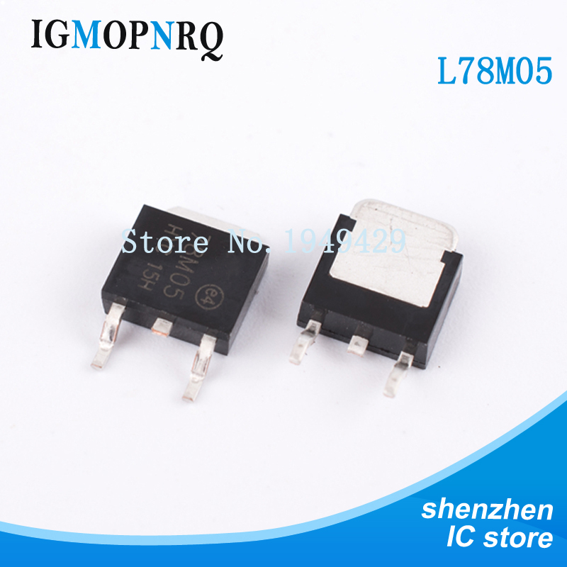 10PCS 78M24 ST TO-252 SMD Voltage Regulator IC