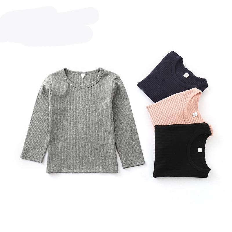 2018 new Baby Girls Boys Outwear Cotton Children Infant T Shirt Sweatshirt Sweater Clothes Tops 2 3 6 Years