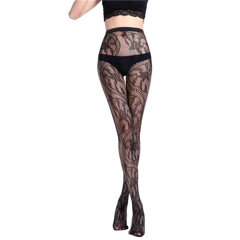 Shop female open crotch breathable pantyhose socks stockings pantyhose underwear sexy online