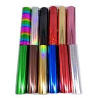 21CMx80M/Roll Gold Silver Hot Stamping Foil Paper Rolls for Laminator Laminating Transfer on Laser Printer Diy Craft Paper