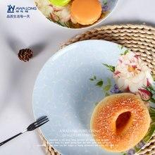 pulgadas bone china plato diseo europeo vajilla navidad de cermica pastel de sushi platos de postre plato de mantequilla