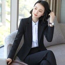 Spring Autumn Women Single Button Solid Slim Casual Business Blazer Suit Jacket Coat Outwear Plus Size S-5XL plus button decoration solid coat