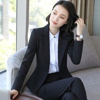 Spring Autumn Women Single Button Solid Slim Casual Business Blazer Suit Jacket Coat Outwear Plus Size S-5XL