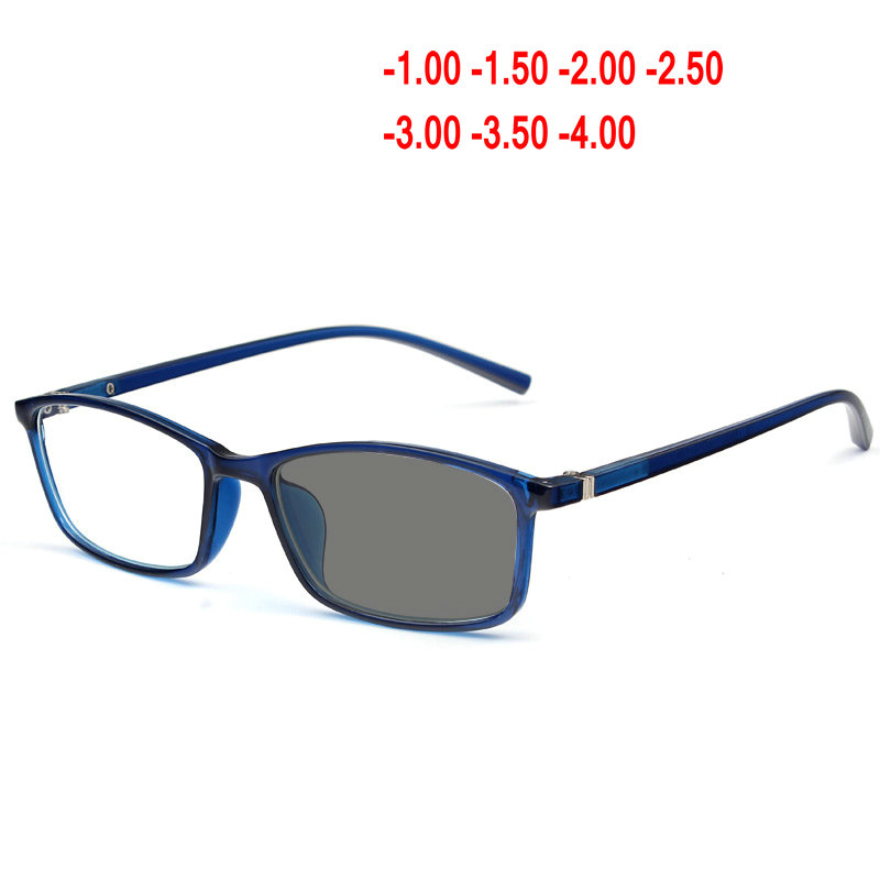 d646d74812 New Sun Photochromic retro Finished myopia glasses men women Nearsighted  Glasses prescription glasses -1.00 to -4.00 NX