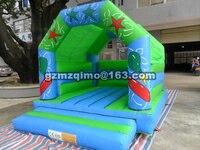 ПВХ 4,35X3,45 м популярный из ПВХ коммерческие надувные батуты надувной замок надувной игрушки для детей подарок на день рождения