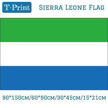 Free shipping Sierra Leone National Flag 3x5ft Hanging Flag 90*150cm/60*90cm/15*21cm/30*45cm Car Flag For Event Office free shipping somalia national flag 90 150cm 60 90cm 30 45cm car flag 15 21cm 3x5ft hanging flag