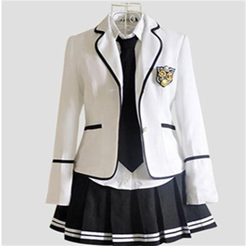Japan Korea Jk Uniforms High School Boys Girls Students Long-sleeved School Uniforms Male Female Junior Students Blazer Suit Set