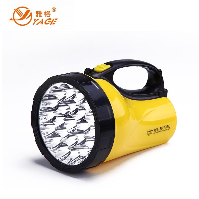 YAGE portable light led spotlights camping lantern searchlight portable spotlight handheld spotlight night lamp light YG