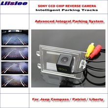 Dynamic Guidance Rear Camera For Jeep Compass / Patriot / Liberty 2011-2015 / 580 TV Lines HD 860 Pixels Parking Intelligentized