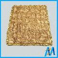 Детские цветок Minky одеяло вязание, Душ подарок ребенок одеяло minky, Норки супер мягкий одеяло производитель китай