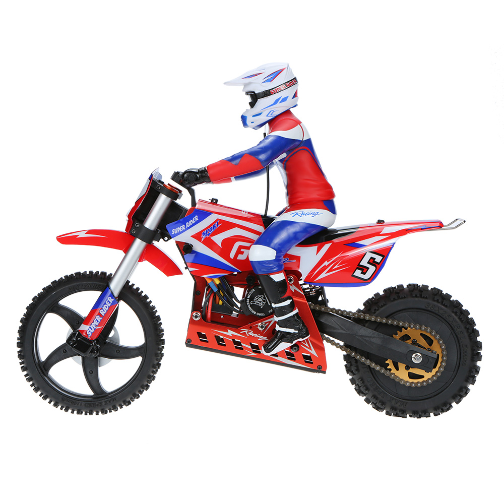 Original Skyrc Sr5 Super Rider Electric Motocross Riders Rc Bike 1