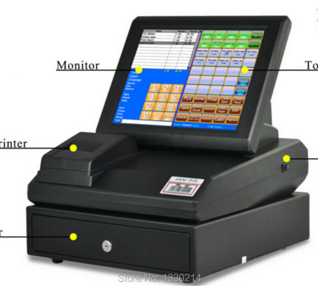 Touch Screen Cash Register Pos Systems For Small Business