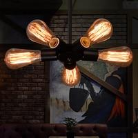 Nordic retro pendant lights fixtures lampara Vintage industrial lighting Spider Pendant Lamp Loft Antique Fixtures Luminaire
