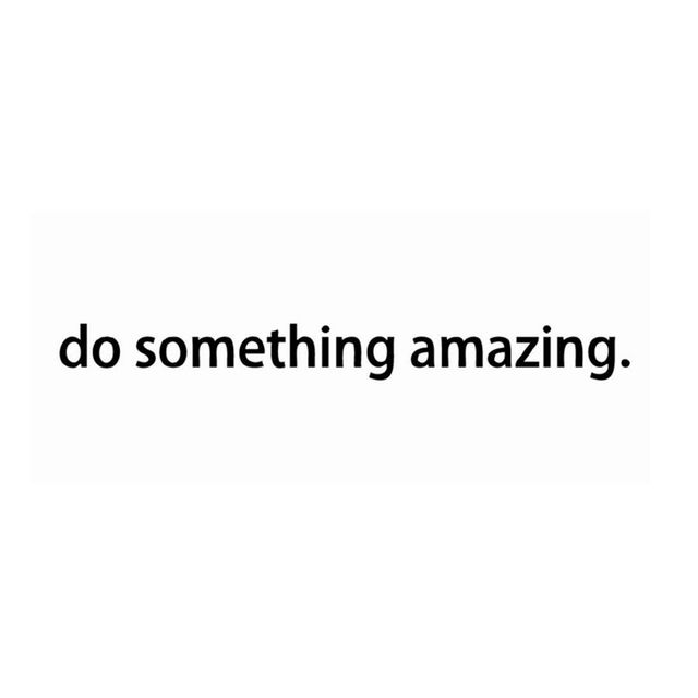 Free shipping Inspirational quote decal – Do Something Amazing.. Over the Door Vinyl Wall Decal Sticker Art , 45cm J2057