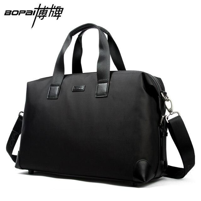 Bopai 2017 bolsa de equipaje de gran capacidad a prueba de agua hombres viajan bolsas de lona bolsas de viaje crossbody bolsas mujeres viaje de fin de semana