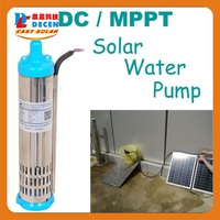 DECEN 132W DC Water Pump Built In MPPT Controller For Solar Pump System Adapting Water Head