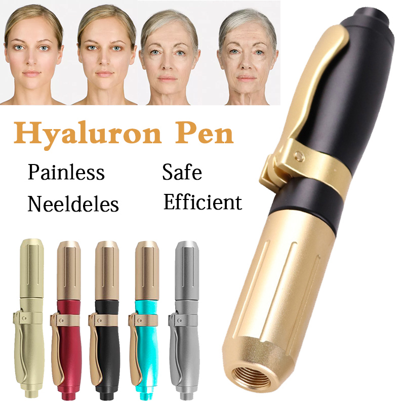 New Color Hyaluronic Injection Pen Massage Atomizer Pen Kit High Pressure Acid Guns Anti Wrinkle Water