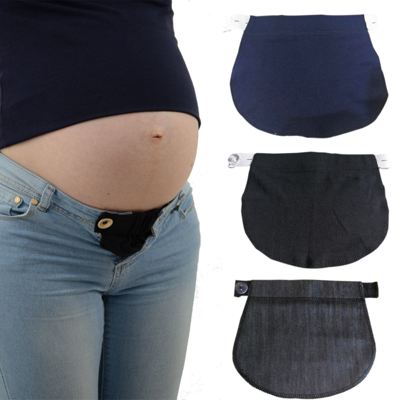2Pcs Pregnancy Waist Pants Extender