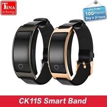 CK11S Smart Band Приборы для измерения артериального давления сердечного ритма Мониторы наручные часы умный Браслет Фитнес браслет трекер Шагомер Браслет