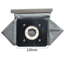 Бесплатная доставка 1 шт. универсальный ткань сумки многоразовые мешки для пылесоса 11×10 cm подходит для Philips Electrolux LG Haier Samsung