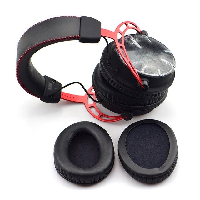 Almohadillas de repuesto almohadillas para almohadillas de espuma de oreja para tablet HyperX Cloud II Alpha KHX-HSCP-GM Auriculares auriculares esponja