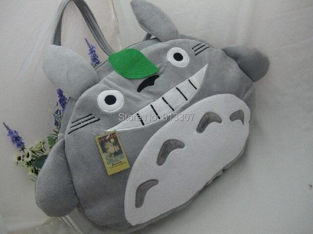My Neighbor Totoro Plush Toys BagStuffed Plush Bags Animal Stuffed Toy Bag Plush handbags Free Shipping 40Pcs/Lot