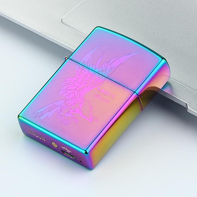 USB töltés Cigaretta öngyújtó Plazma elektronikus íves öngyújtók Cigaretta füstgáz dohány Hookah szélálló férfiak könnyebb