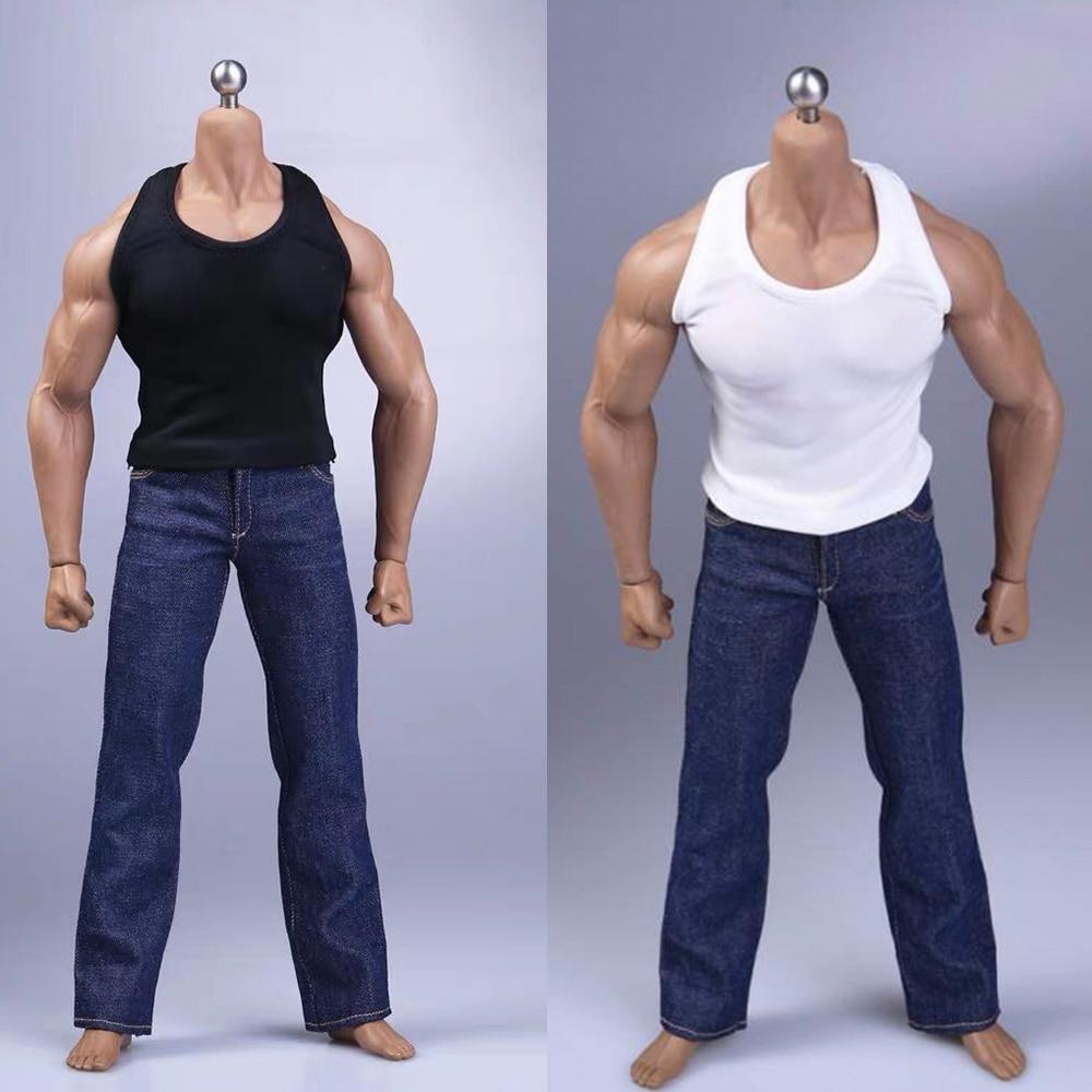 1//6 Scale Men/'s Pant Belt Model for 12/'/' Soldier Action Figure Toys Hobbies Mini