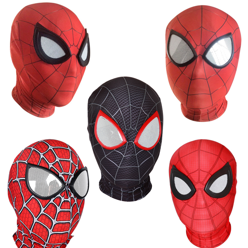 3D Spider-Man Far From Home Masks Avengers Infinity War Iron Spider Man Helmet Cosplay Props Adult Spiderman Homecoming Mask