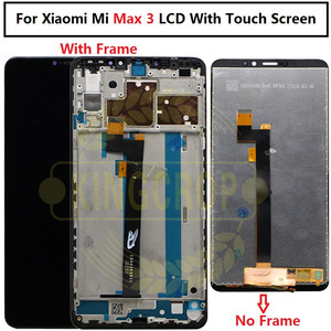Image 5 - Xiao Mi Mi Max Lcd Touch Screen Digitizer Vergadering Voor Xiao Mi Mi Max 2 Lcd Max2 Max 3 screen Vervanging Zwart Wit