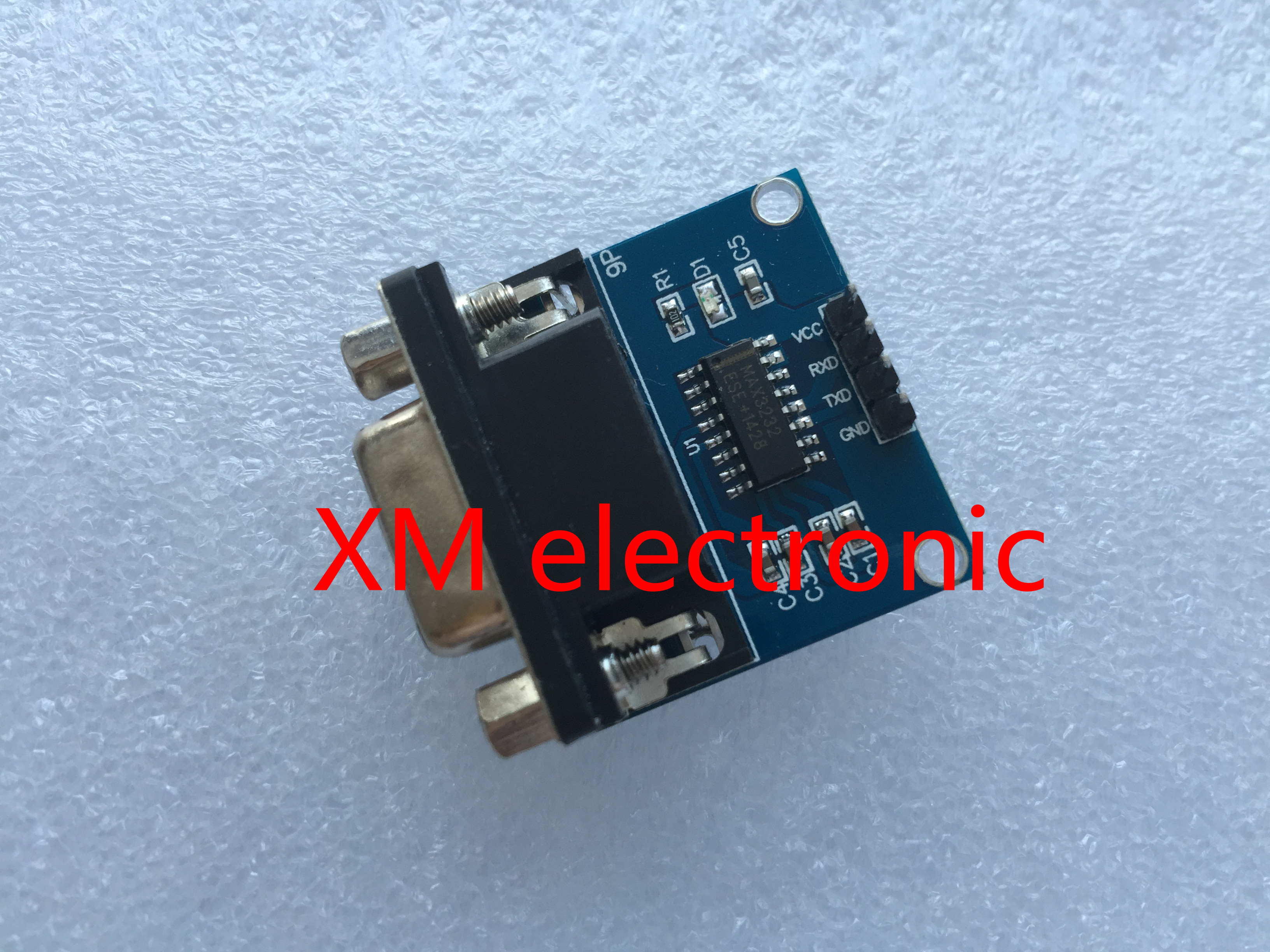 5 Ps Lote Max3232 Porta Serial Rs232 Para Ttl Converter Module Db9 To By Max232 Conector H04