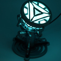 Toys Legend 1 1 Scale Iron Man Arc Reactor With LED Light Iron Man 3 PVC