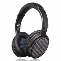 IDeaUSA V201 ANC Aktif Gürültü önleyici Aşırı Kulak Bluetooth Kablosuz Kulaklık aptX ile HiFi Ses kadar 25 Saat Çalma