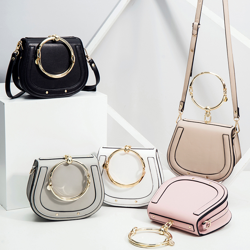 Célèbre marque Designer femmes sacs de selle de haute qualité en cuir femme sac à main Messenger décontracté dames sac à bandoulière Bolsos Mujer