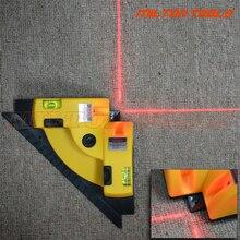 Лидер продаж прямоугольный 90 градусов квадратный лазерный уровень высокого качества инструмент для лазерного измерения лазерный уровень