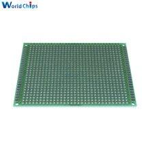 10 шт. 7x9 7*9 см двухсторонний Прототип PCB Луженая универсальная плата экспериментальная пластина схема отверстие хлеб доска