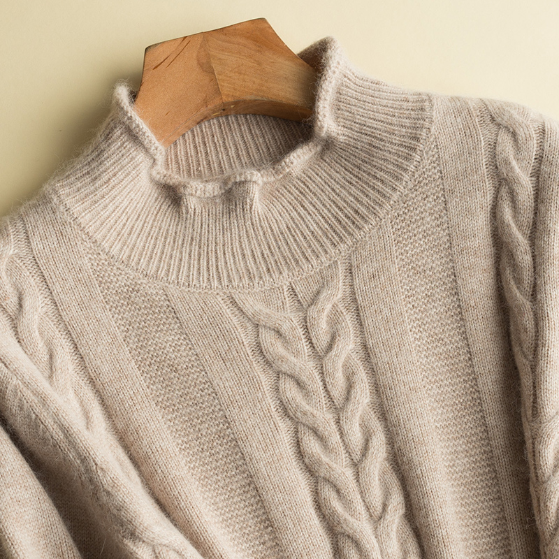 New genuine cashmere sweater women pure cashmere pullovers o neck sweater brand style free shipping