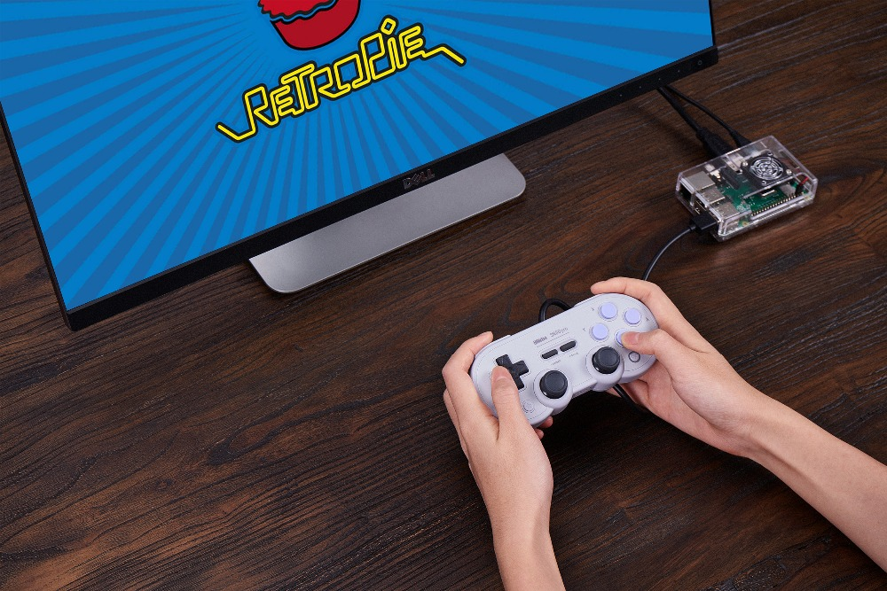 Official 8BitDo Wired SN30 Pro USB Gamepad for Nintendo Switch Windows Raspberry Pi SN Edition 15