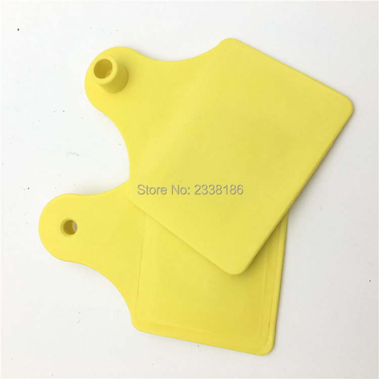 10pcs 134.2khz ISO11784 ISO11785 Rfid Ear Tag For Animal Cattle Sheep Pig Management